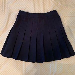 American Apparel Patriot Blue Mini Skirt